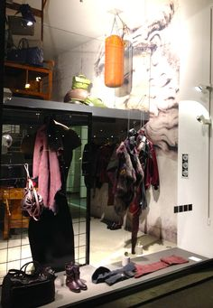 FOUR | via Mario Pagano   #ShopWindows #latendamilano #boutique #fall13 #FW13 #womenswear #MadeinItaly Shop Windows, Wardrobe Rack, Mario, Boutique, Shopping, Furniture, Home Decor, Decoration Home, Room Decor
