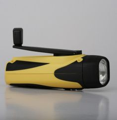 Freeplay Sherpa LED Self-Charge Flashlight Let there be light! No more scrounging around for batteries when a power outage strikes. Recharge your flashlight using free and totally green hand-crank technology. The long-lasting LED lights in this self-charge flashlight never need replacing.