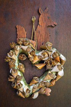 The door to the writing chalet Burlap Wreath, Wreaths, Writing, Fall, Home Decor, Autumn, Decoration Home, Door Wreaths, Fall Season
