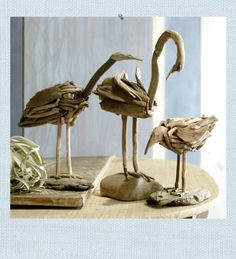 driftwood beach birds | Beaching Crafts