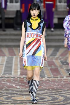 Kenzo Spring 2018 Ready-to-Wear  Fashion Show Collection