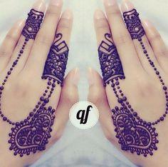 henna with heart