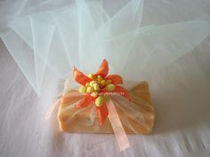 orange,lily, handmade, flower, floral, decorative, soap, decoration, crafts, event, home, bridal, baby