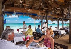 Listen to the waves as you dine with your loved one. | Sandals Resorts | Jamaica