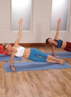 Ein Pilates Workout, das deinen Körper straffen wird