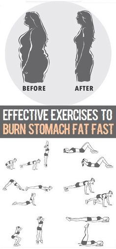 8 Most Effective Exercises to Burn Stomach Fat Fast..