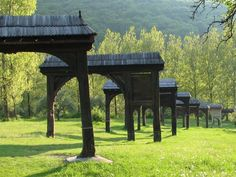 Erdely, székely kapuk 1000 Years, Natural Scenery, Natural Resources, Hungary, Budapest, Gazebo, To Go, Outdoor Structures, Italy