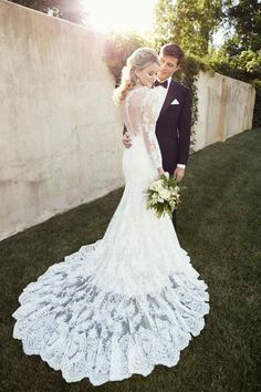 Wedding gown by Essense of Australia