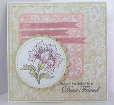 Sunny Summer Crafts: Happy Birthday, Dear Friend