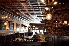 The Esquire Tavern - Thrillist happy hour Wooden Bar Top, San Antonio Bars, Brackenridge Park, Cool Forts, Best Surfing Spots, Old Bar, Ice Houses, River Walk, Esquire