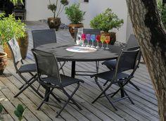 Ensemble de jardin en rotin Loa - CASTORAMA | Summer Living ...