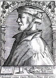 Heinrich Cornelius Agrippa - German magician, occult writer, theologian, astrologer, and alchemist.