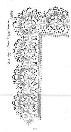 Crochet Borders, Filet Crochet, Irish Crochet, Crochet Lace, Bobbin Lace Patterns, Weaving Patterns, Doily Art, Bobbin Lacemaking, Needle Lace