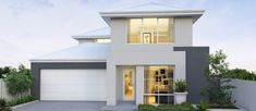 Noosa 12.5m wide double storey home design