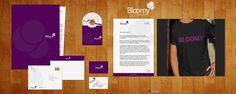 Brand identity Bloomy fashion