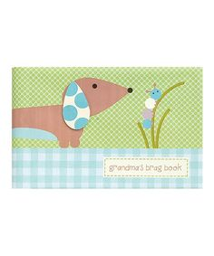 Take a look at this Blue Dachshund Brag Book by pepper pot on #zulily today!