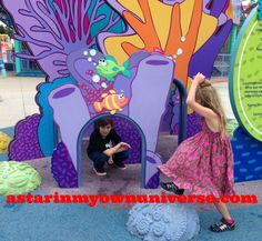 Under the Sea with Sonny-Bunny and Little Diva http://www.astarinmyownuniverse.com/2014/07/20/sundays-in-my-city-109-can-you-tell-me-how-to-get-to-sesame-street/