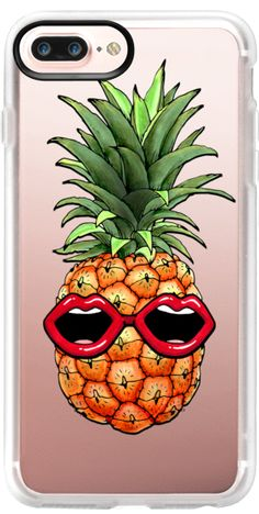 Casetify iPhone 7 Plus Case and iPhone 7 Cases. Other Sunglasses iPhone Covers - Cool Pineapple by VS | Casetify