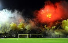 Ultras Football, Northern Lights, Soccer, Nature, Travel, Athlete, Sports, Barbell, Gold