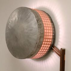 Rustic Roof Vent Lamp by Furniture and Fabwork – upcycleDZINE | Please subscribe to my NEWSLETTER at upcycledzine.com ! #upcycle #design #factory #lamp #vintage