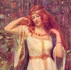 My Blog post about Freya of the Vanir | Magic and Tea