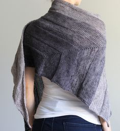 Ravelry: everyday shawl pattern by Jenny F