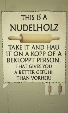 THIS IS A NUDELHOLZ.ohhh ja sehr gut das brauch ich ha ha ha - my most beautiful makeup list German Quotes, Makeup Quotes, Just Smile, True Words, Quotations, Funny Jokes, Hilarious, Notes, Thoughts