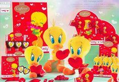 #Chocolate #ValentinesDay #Caffarel #Tweety #Heart #IdeeRegalo per la #FestadegliInnamorati From Glob-Arts