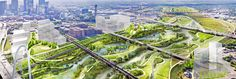 Dallas could soon have the biggest city nature park in America, part of which is the Trinity River Park designed by Michael Van Valkenburgh Associates.