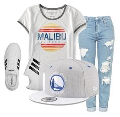 """Untitled #193"" by brodriguez8104 on Polyvore featuring Topshop, Aéropostale, New Era and adidas"