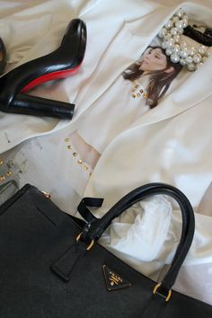 Outfit of the day: Zara-Louboutin-Prada