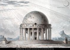 Design for a House for a Cosmopolite, 1783