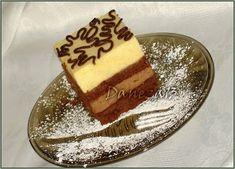 Aventuri culinare cu Daneza: Prajitura cu mousse de ciocolata, piersici si fructul pasiunii Poppy Seed Recipes, Dessert Drinks, Desserts, Balerina, Something Sweet, Mini Cakes, Tiramisu, Food And Drink, Sweets