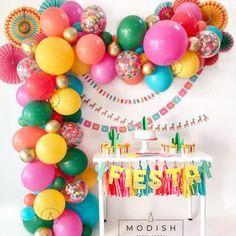 Diy Balloon, 16 Balloons, Balloon Arch, Balloon Garland, Confetti Balloons, Balloon Shop, Balloon Ideas, Gold Confetti, Latex Balloons