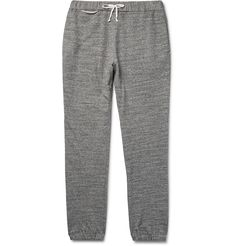 Maison Margiela - Slim-Fit Tapered Loopback Cotton-Jersey Sweatpants