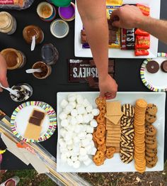 S'Mores Bar Party