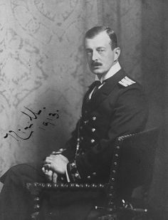 GRAND DUKE KIRILL VLADIMIROVICH (12 October 1876 – 12 October 1938) eldest surviving son of Maria Pavlovna. further reading >> http://en.wikipedia.org/wiki/Cyril_Vladimirovich,_Grand_Duke_of_Russia