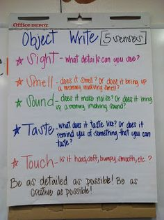 Descriptive Writing--but remember, descriptive writing is in ALL ...