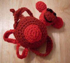 """Monkeyroo Baby Rattle—3: """"Jiggles"""""""
