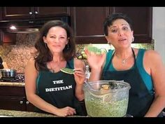 Kale Dip for Lasagna The Chef and The Dietitian - Episode 35