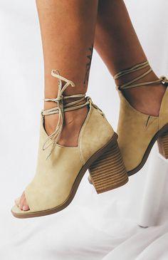 Windsor Smith Berlin Heel - Camel Suede from peppermayo.com