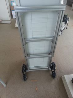 custom trolley for systainers and modified mft top to be lighter