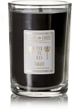 Coqui Coqui - Tabaco Scented Candle, 227g - Black