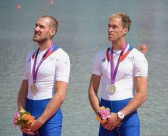 Germain Chardin et Dorian Mortelette/Médaille d'argent aviron à deux sans barreur