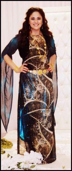 Lana Zangana Kurdish dress