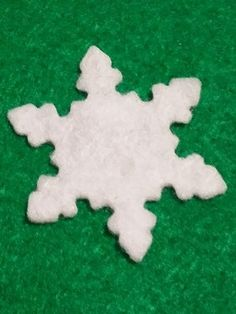 RESERVED FOR JESSICA,Felt Shape Snowflakes  for Wax Dipping, Christmas Pack,