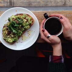 Our famous avocado on sourdough with chilli, lemon and pistachios and a big cup of La Democracia, Guatemala filter. #climpsonandsons #climpsonandsonscoffee #specialitycoffee #guatemala  #filtercoffee #broadwaymarket