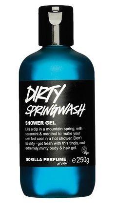 Dirty Springwash shower gel