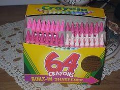 Pink Crayons!