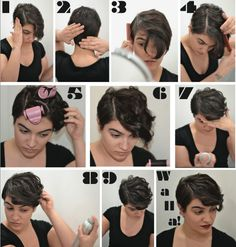 nadiaaboulhosn: Made a step-by-step how to do my hair every morning for Arrojo! Check it out here!